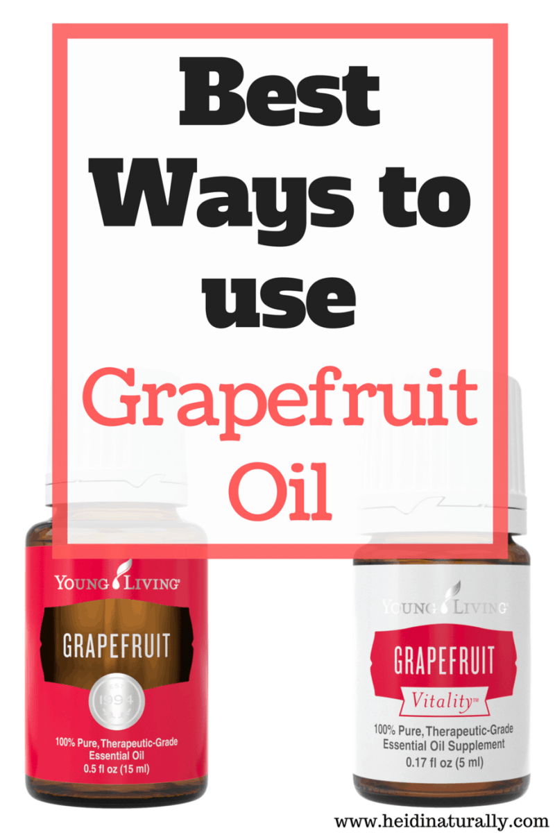 Best Ways to Use Grapefruit Oil - Essential Oil Facts and Tips